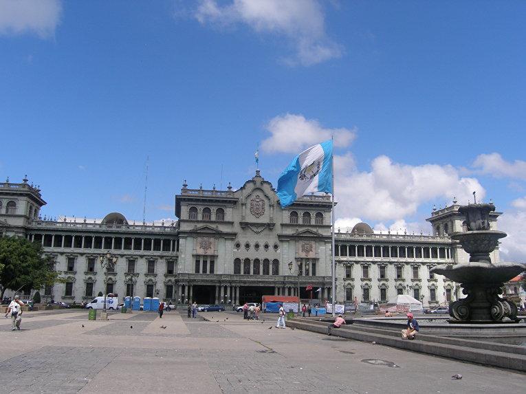 Президентский дворец в Гватемале. Архив