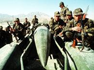 Советские солдаты в Афганистане