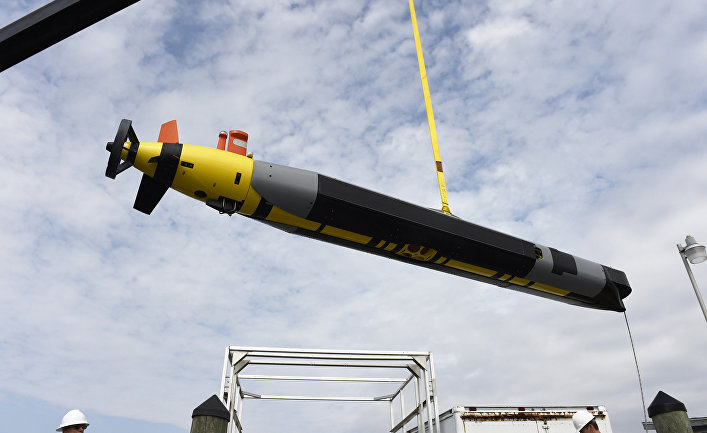 Беспилотный подводный аппарат Remus 600