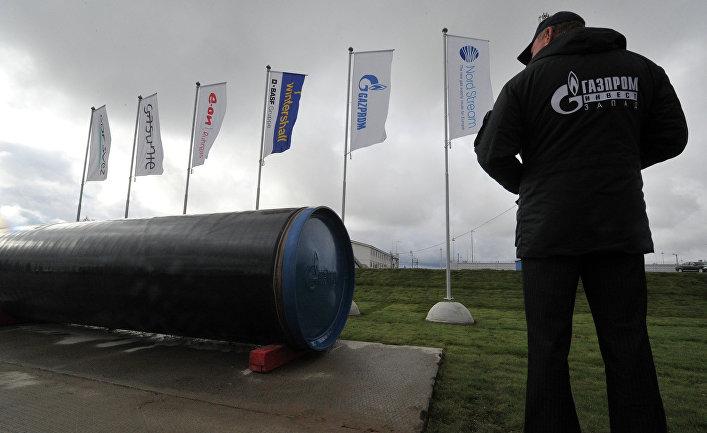 """Пуск в эксплуатацию второй ветки газопровода """"Северный поток"""""""
