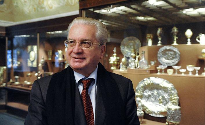 Директор Государственного Эрмитажа Михаил Пиотровский