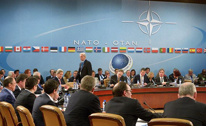 Заседание Совета Россия - НАТО в Брюсселе