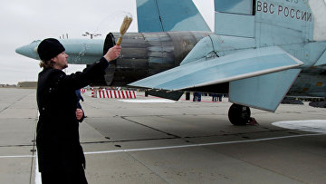 Новая техника поступила на аэродром Бельбек в Крыму