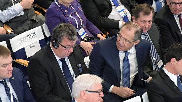 Министр иностранных дел РФ С. Лавров принял участие в Мюнхенской конференции по безопасности