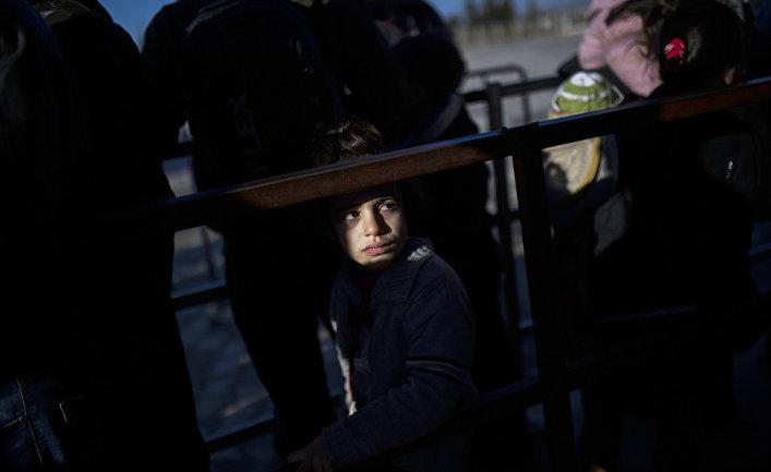 Сирийцы на Турецко-Сирийской границе