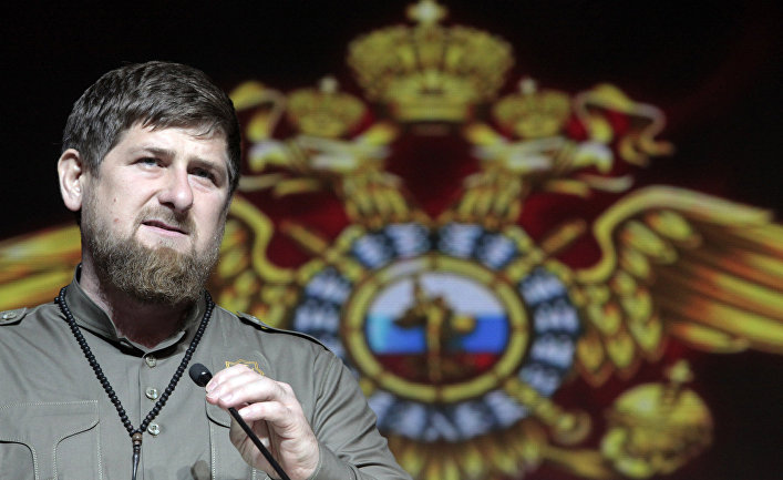 Рамзан Кадыров в Грозном