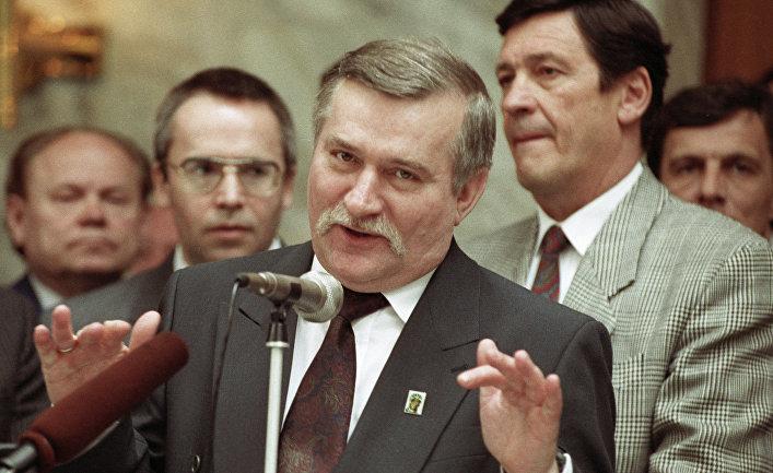 Президент Польши Лех Валенса