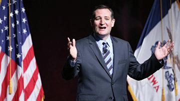 Кандидат в президенты США, сенатор-республиканец от штата Техас Тед Круз