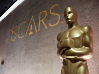 """Статуэтка """"Оскара"""" на обеде номинантов в отеле Beverly Hilton"""