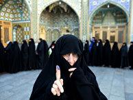 Женщина на выборах в парламент и в совет религиозных экспертов в Иране