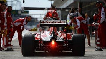 Автоспорт. Формула -1. Гран-при России. Свободные заезды. Третья сессия