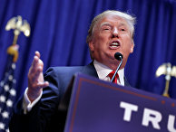 Кандидат в президенты США Дональд Трамп
