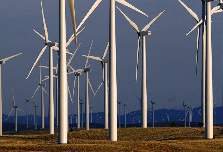 Ветровые электростанции в США