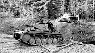 Лёгкий немецкий танк времён Второй мировой войны Panzer II