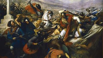 Карл Штейбен «Битва при Пуатье 732 года»
