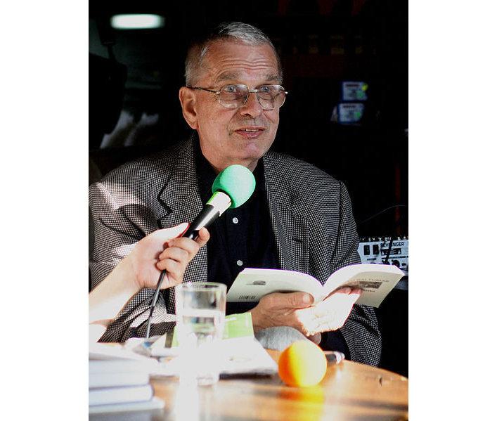 Литовский поэт, переводчик, литературовед Томас Венцлова