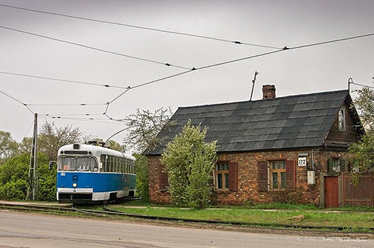Город Даугавпилс в Латвии