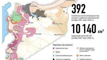 Результаты действий Воздушно-космических сил России в Сирии