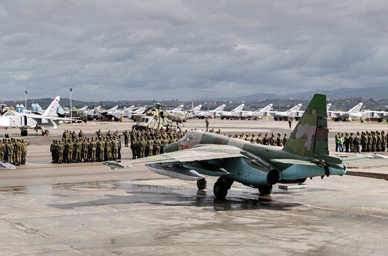 Подготовка экипажей ВКС России к вылету на Родину с авиабазы Хмеймим