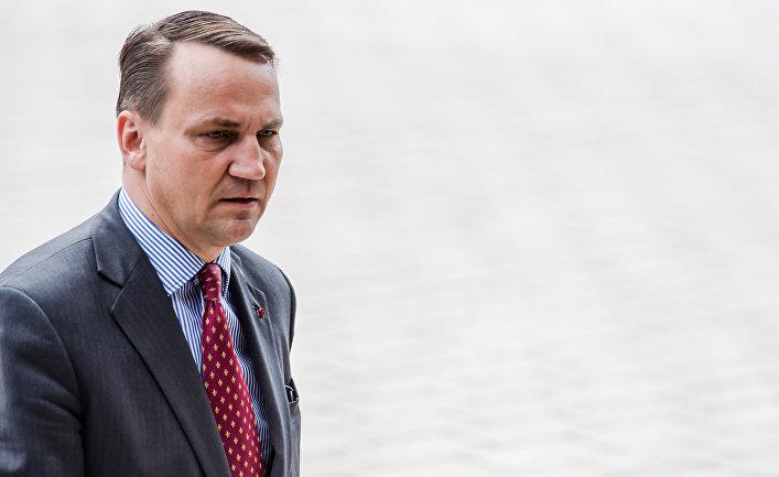 Министр иностранных дел Польши Радослав Сикорский
