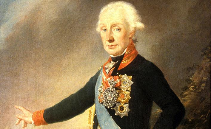 Портрет А. Суворова