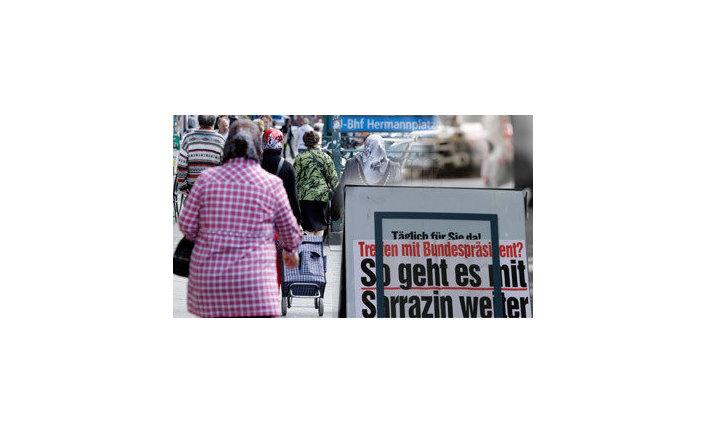 новое произведение Саррацина которое можно перевести как «Германия самоликвидируется»