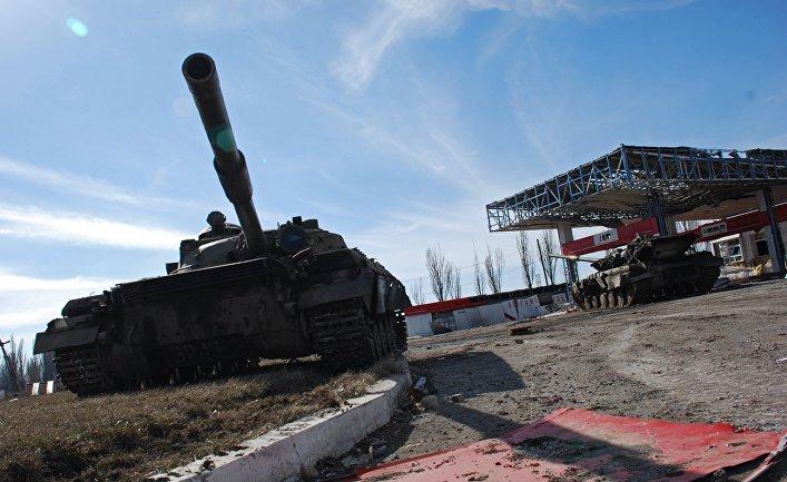 Восстановительные работы в Дебальцево