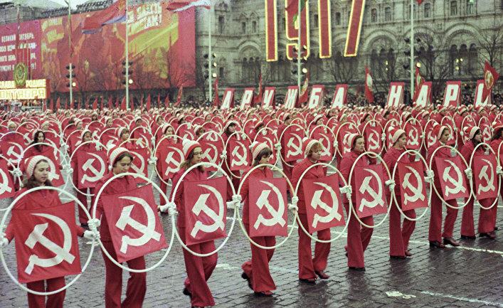Парад физкультурников на Красной площади