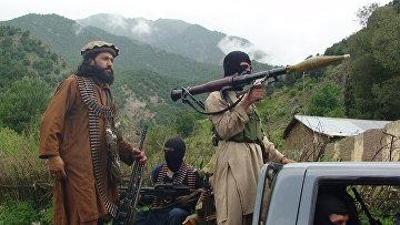 Боевики пакистанского «Талибана»