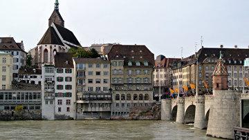 Вид Базеля, Швейцария