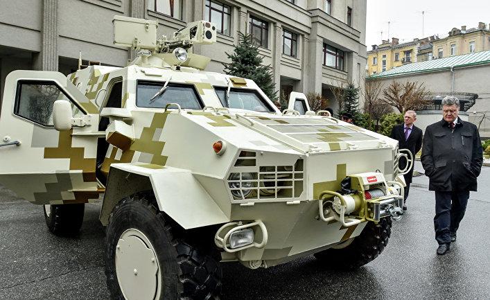 Украинский бронеавтомобиль «Дозор-Б»