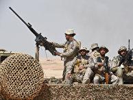Военные учения недалеко от города Хафар-эль-Батин в Саудовской Аравии