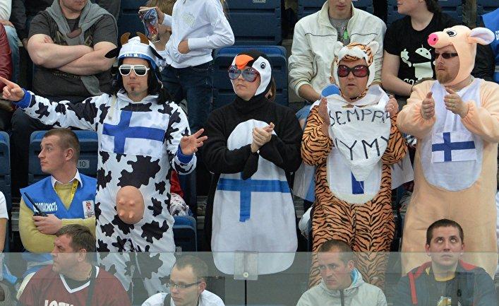 Хоккей. Чемпионат мира. Матч Финляндия - Латвия