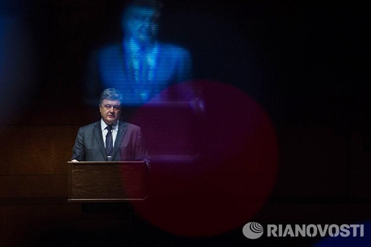 Рабочий визит президента Украины Петр Порошенко в США