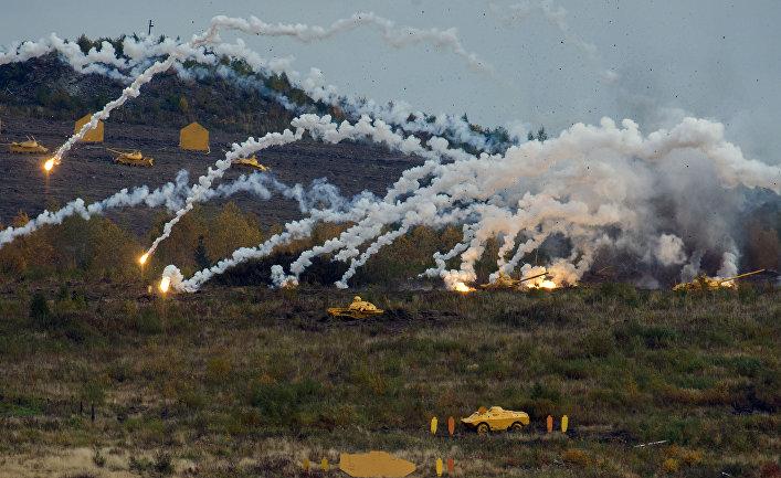 Демонстрационные стрельбы на открытии 10-й международной выставки Russia Arms Expo