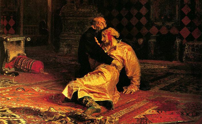 Илья Ефимович Репин «Иван Грозный и сын его Иван 16 ноября 1581 года» (1885)