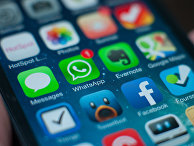 Мессенджер Watsapp в смартфоне