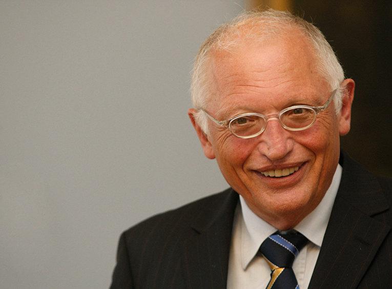 Вице-президент Европейской комиссии по вопросам предпринимательства и промышленности Гюнтер Ферхойген