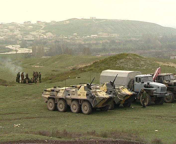 Спецоперация в районе дагестанского села Губден