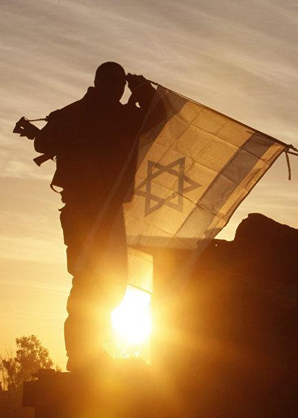 Солдат армии Израиля