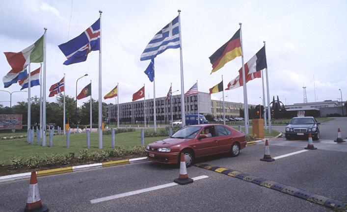 Здание штаб-квартиры НАТО