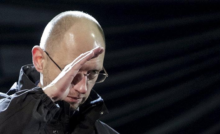 Бывший министр экономики Украины Арсений Яценюк