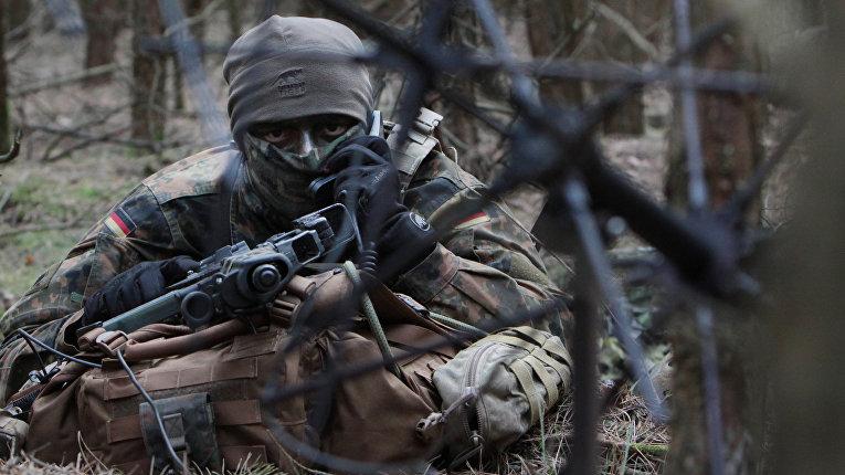Солдат бундесвера