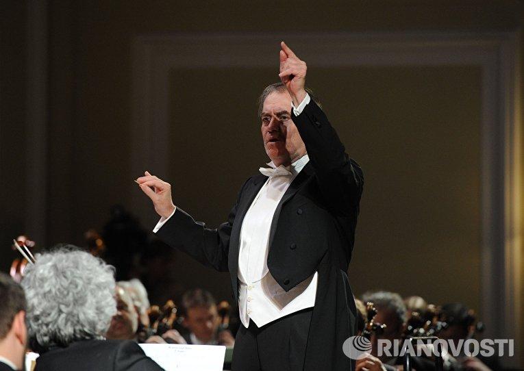 Выступление Объединённого оркестра Мюнхенской филармонии и Мариинского театра