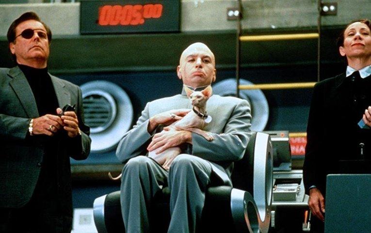 Кадр из фильма «Остин Пауэрс: Международный человек-загадка»