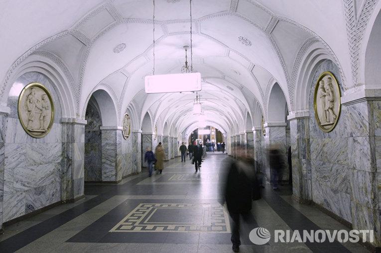 Станция «Парк Культуры»