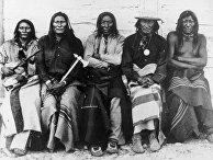 Индейцы кроу, 1871 год