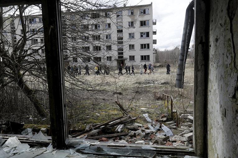 Советский город-призрак
