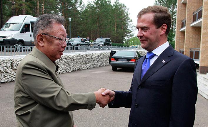 Рабочая поездка Д.Медведева в Сибирский ФО