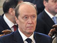 Чрезвычайный и Полномочный Посол РФ в Латвийской Республике Александр Вешняков